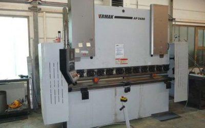 Zweizylinder-Abkantpresse Fabrikat Lotze