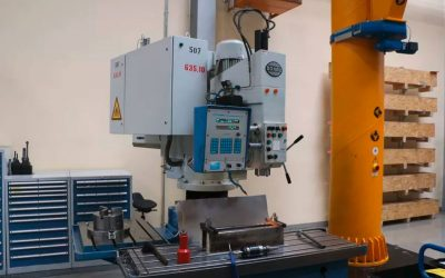 Schnellradial-Bohrmaschine Fabrikat Donau Typ DANUMERIC 440