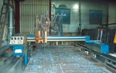 CNC-Brennschneidanlage Fabrikat Messer Griesdeim
