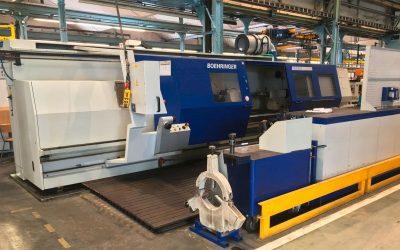 Leit- und Zugspindeldrehmaschine Fabrikat VDF