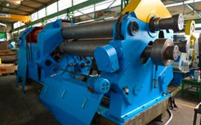Mot. Rundbiegemaschine Fabrikat Kramer Typ RSEO II 3000/290