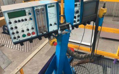 Unterpulver-Schweißanlage Fabrikat Oerlikon