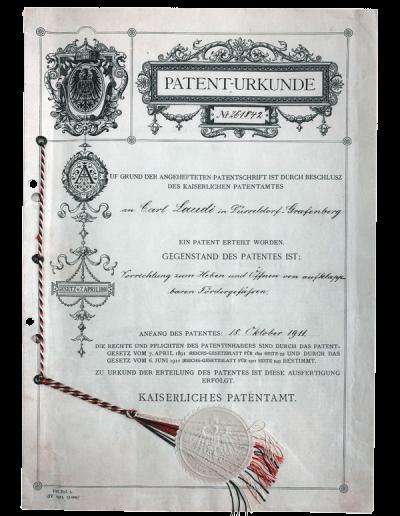 Laudi_Kaiserliches_Patent